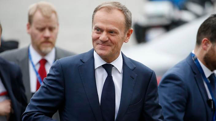 Poland reacts with fury to re-election of Donald Tusk