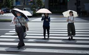 Heatwave Hits Japan