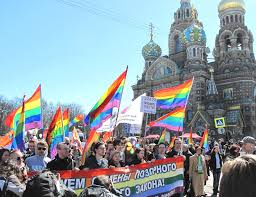 LGBT Protesters Detained in St Petersburg