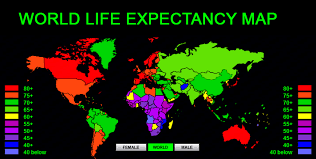 Life Expectany o the Rise