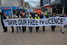 Petition Against Scrapping TV Licence