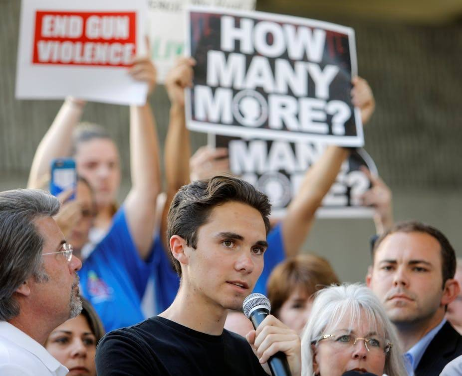 Florida school shooting: urgency of gun reform calls for dramatic action from young survivors
